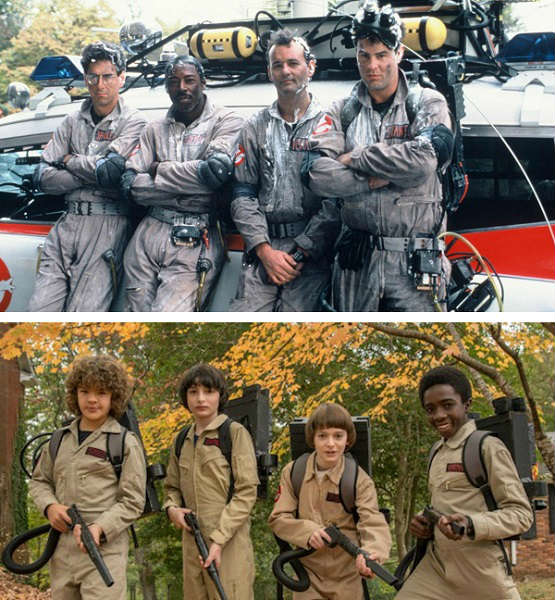 ghostbusters stranger things