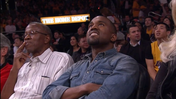kanye west and dad