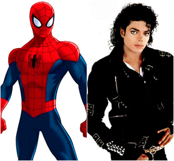 spiderman michael jackson