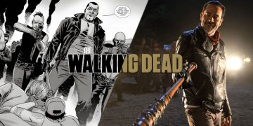walking dead comics vs show