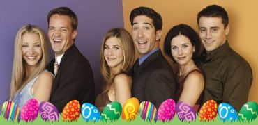 friends easter eggs