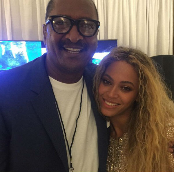 beyonce and father