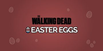 walking dead easter eggs
