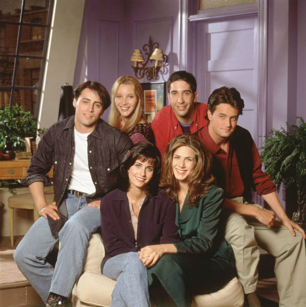 friends cast season 1