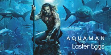 aquaman easter eggs
