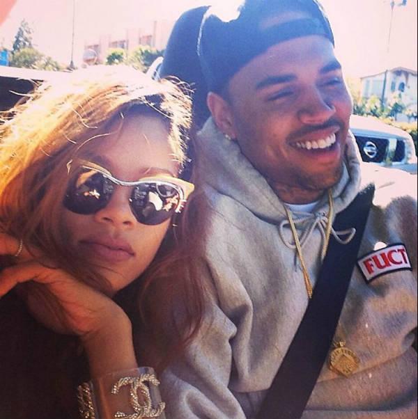 rihanna chris brown back together