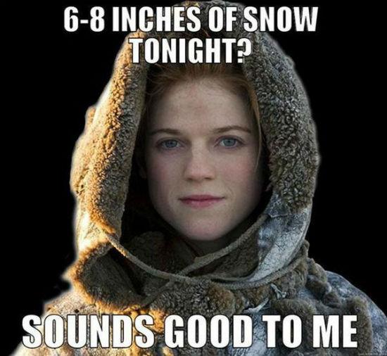 ygritte jon snow meme