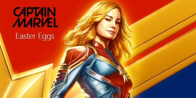 captain marvel easter eggs