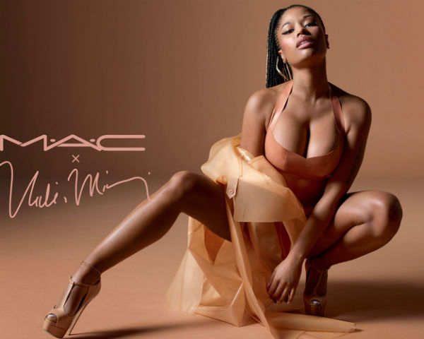nicki minaj mac cosmetics
