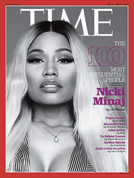 nicki minaj time magazine