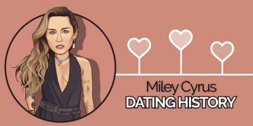 miley cyrus dating history