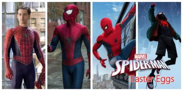 spider-man easter eggs