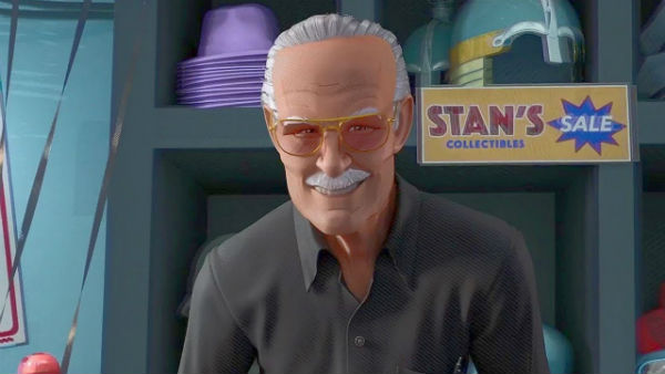 stan lee into the spider-verse