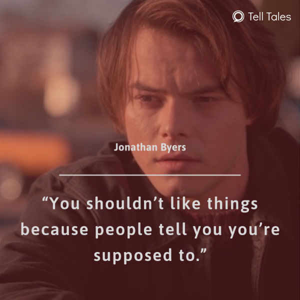 jonathan byers quote