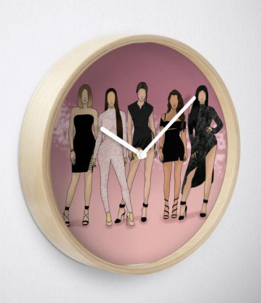 kardashian clock