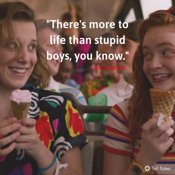 max stranger things quote