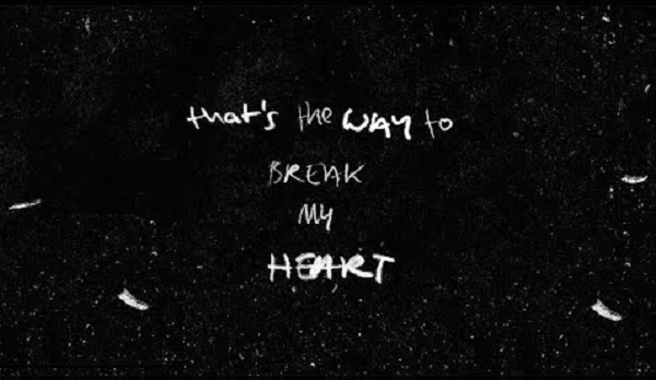way break heart ed sheeran
