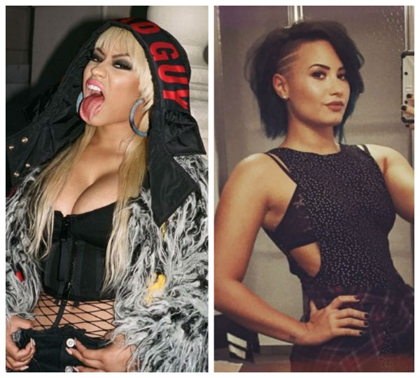 Nicki Minaj vs Demi Lovato