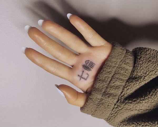 ariana grande wrong tattoo