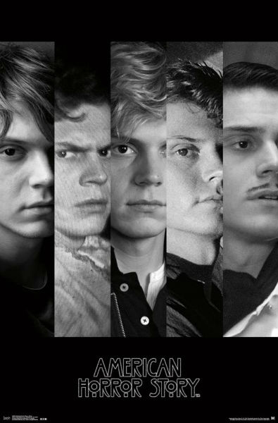 evan peters ahs poster