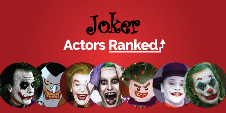 joker actors ranked