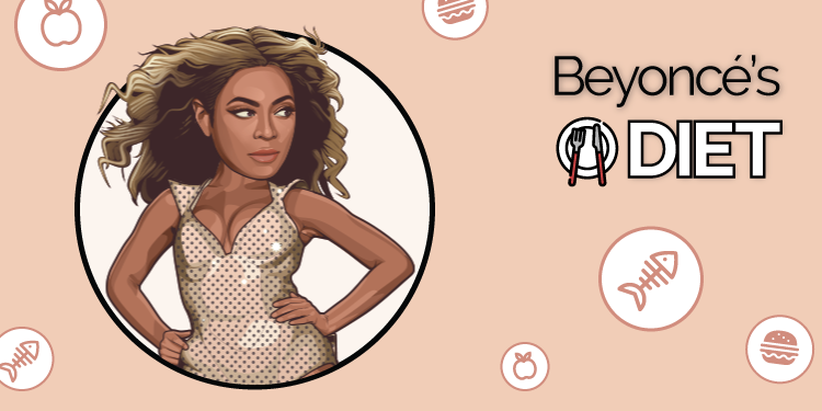 What does Beyonce eat