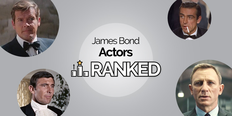 best james bond actor