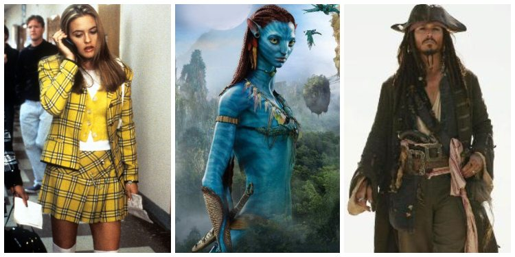 movie character costumes