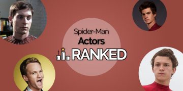 spider-man actors ranked
